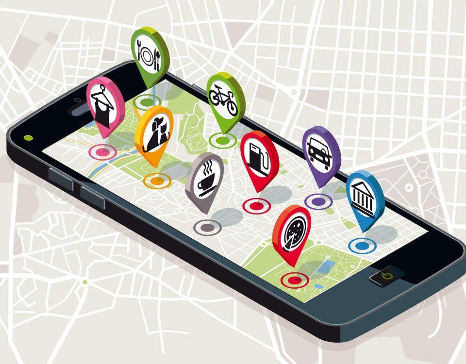 Pozycjonowanie lokalne - telefon google Maps